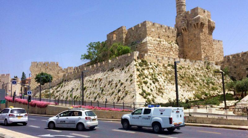 Стены Старого города в Иерусалиме