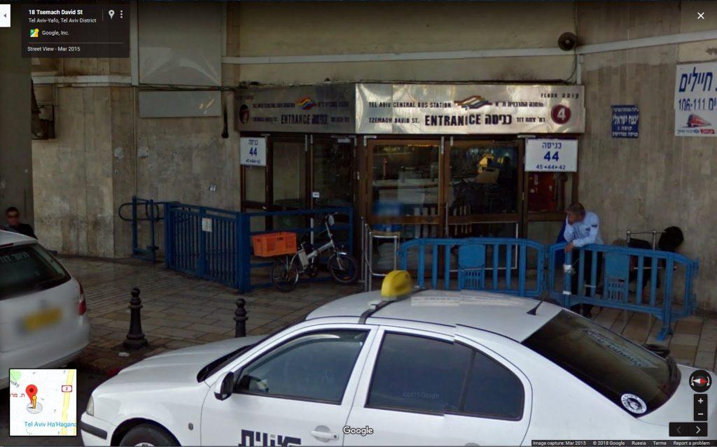 Новый автобусный вокзал в Тель Авиве