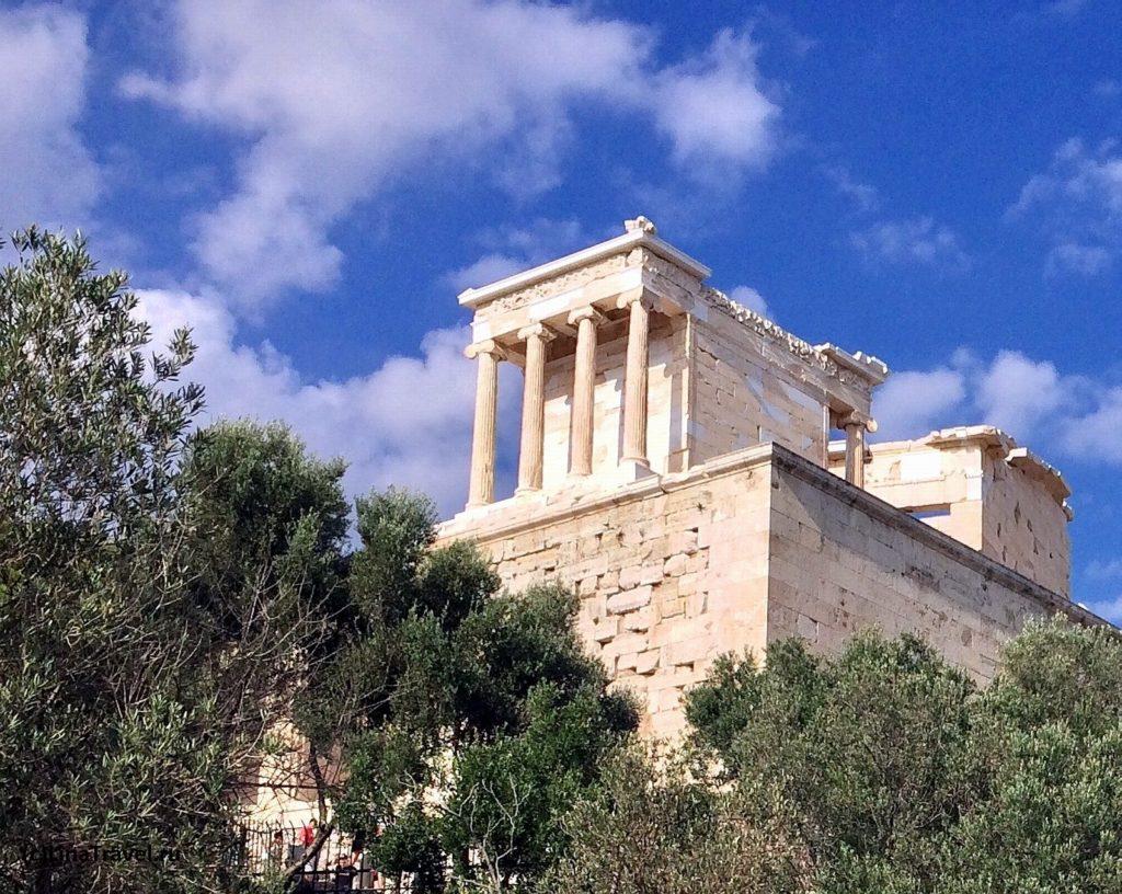 Храм Ники Аптерос на афинском Акрополе