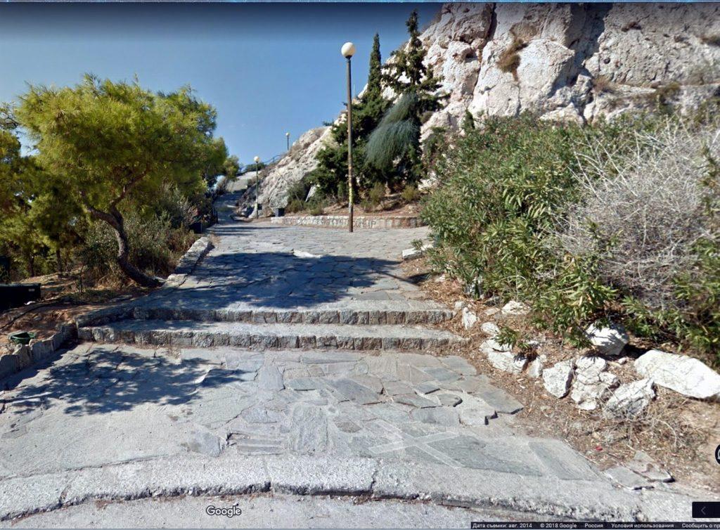 Lycabettus hill road