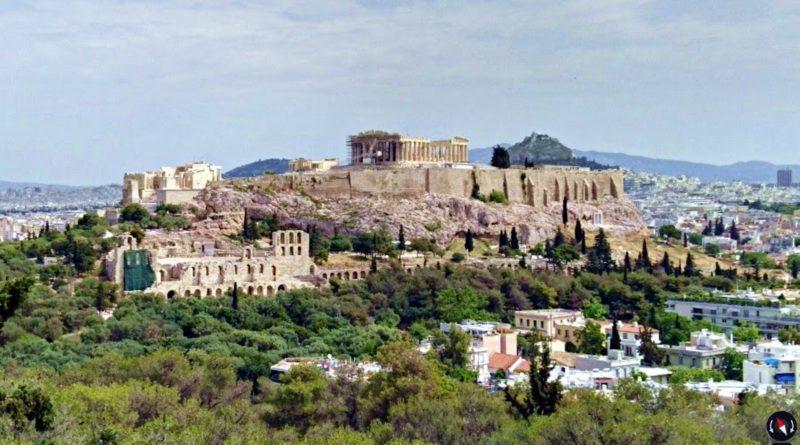 Посещение Афинского Акрополя