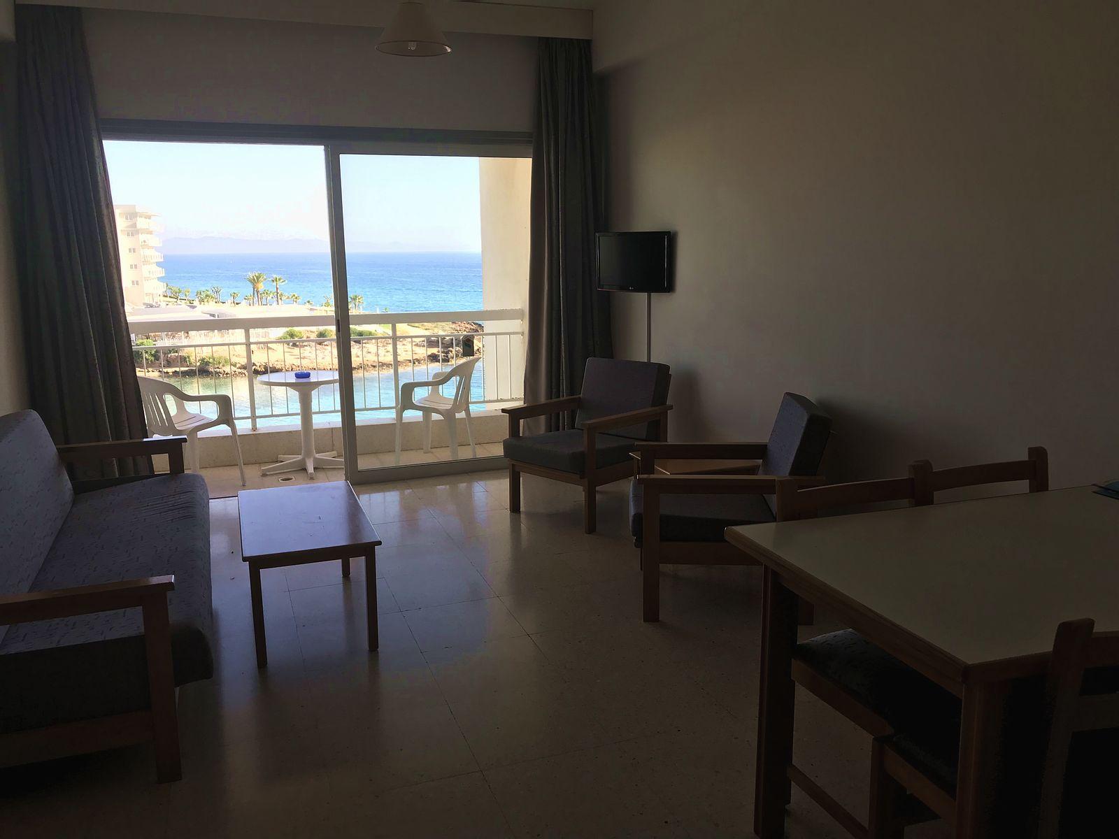 Cyprus. Hotel Pola Costa room view.