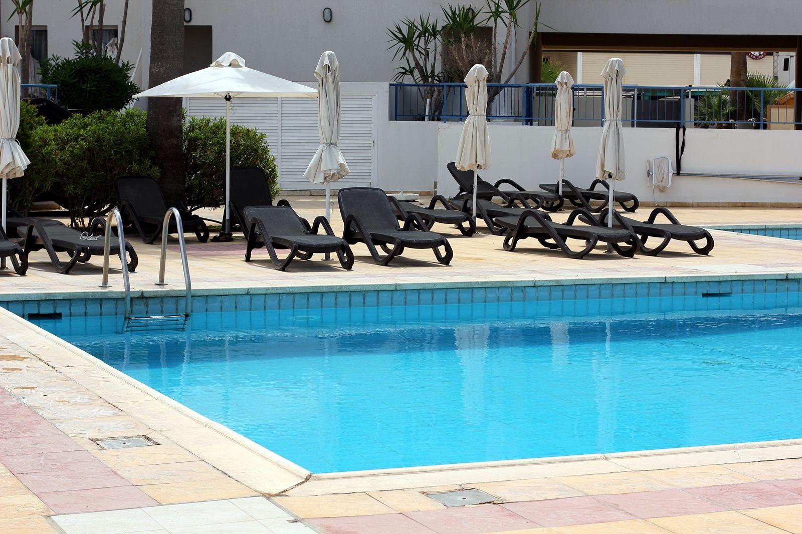Cyprus. Hotel Pola Costa pool.
