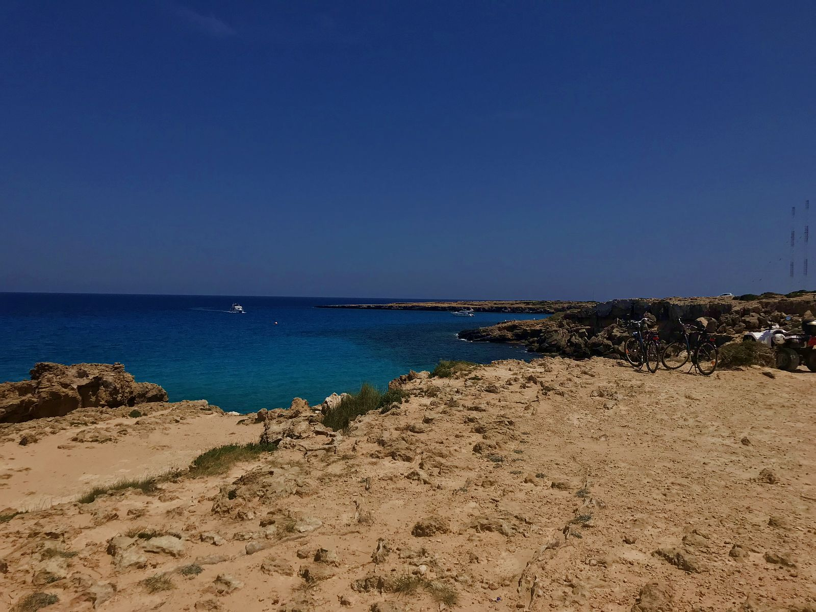 Cyprus. Blue lagoon view.