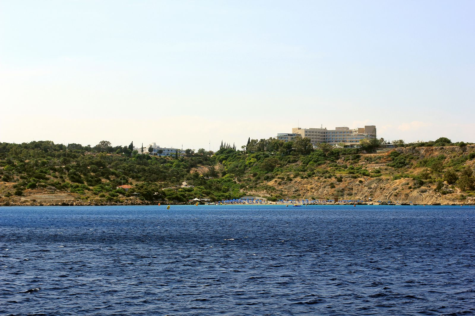 Konnos beach view.