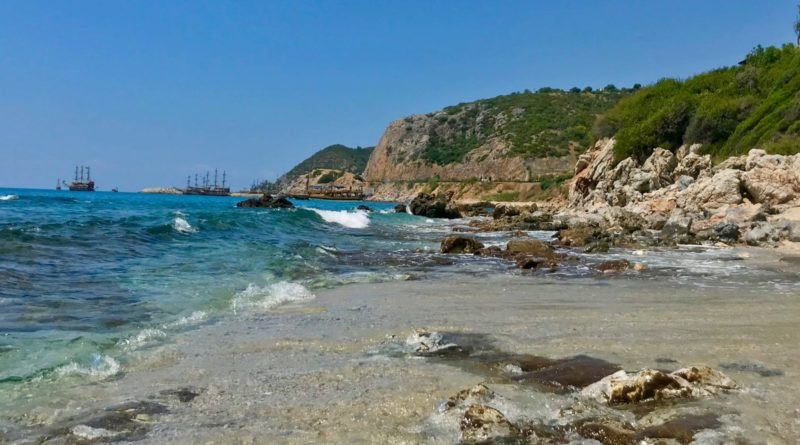 Alanya snorkeling beach